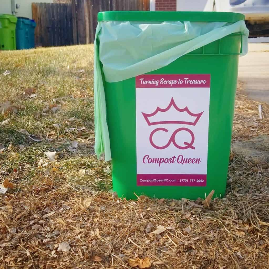 compost queen bucket curbside pickup