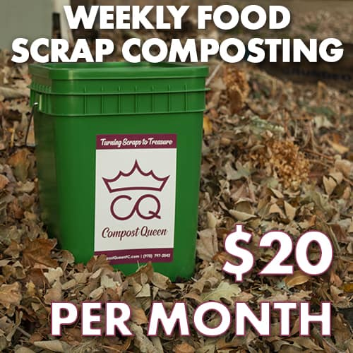 Monthly Food Scrap Composting Subscription