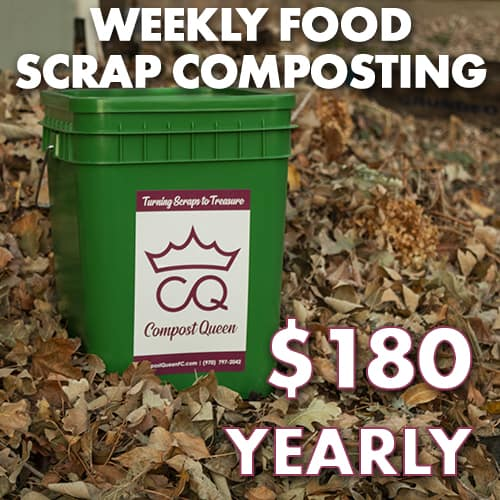 one year residential compost bin