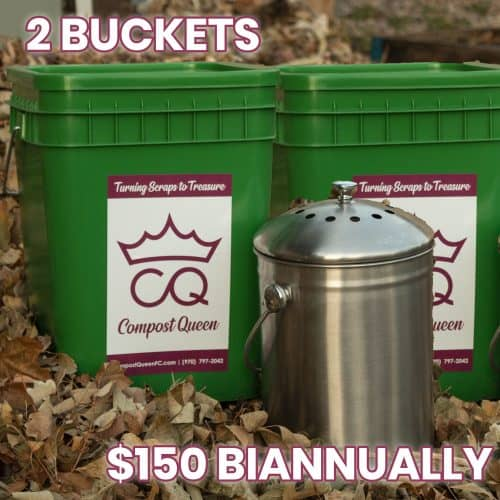 2 compost bins bi annual